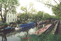 Regent's Canal next to Little Venice; NOTE: opens in new window(!)